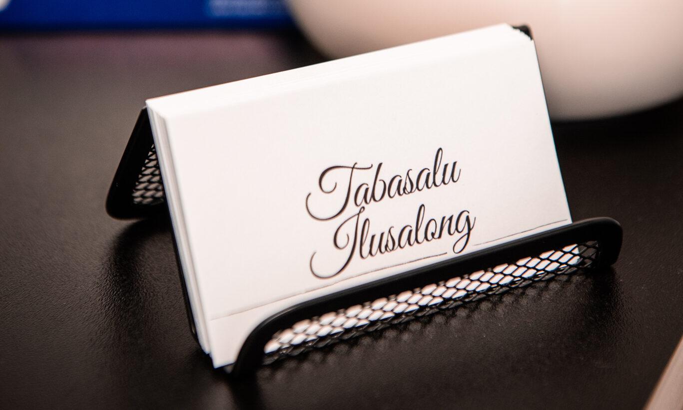 TABASALU ILUSALONG: Iluruum Tabasalus, Airok tennisekeskuses